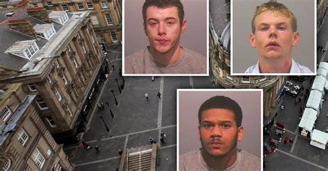 Tyneside Foyer by Three Jailed After Fight Near Monument In Newcastle Ended