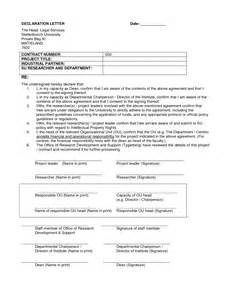 declaration format for resume 28 images 10000 cv and