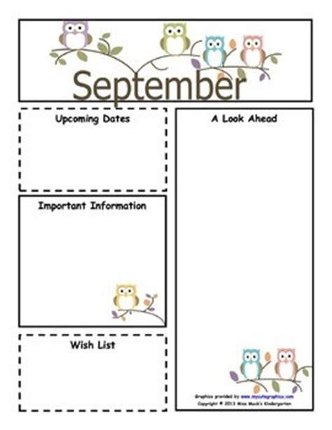 september monthly newsletter template customizable 608   aa9761ce225664234481e2f8847d7c33 monthly newsletter template newsletter ideas