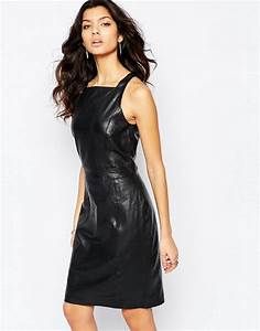 mango mango premium leather dress With robe simili cuir mango