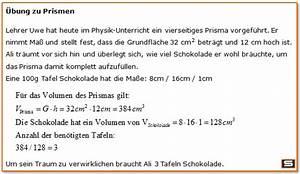 Volumen Von Zylinder Berechnen : prisma formeln berechnen volumen oberfl che mantelfl che ~ Themetempest.com Abrechnung