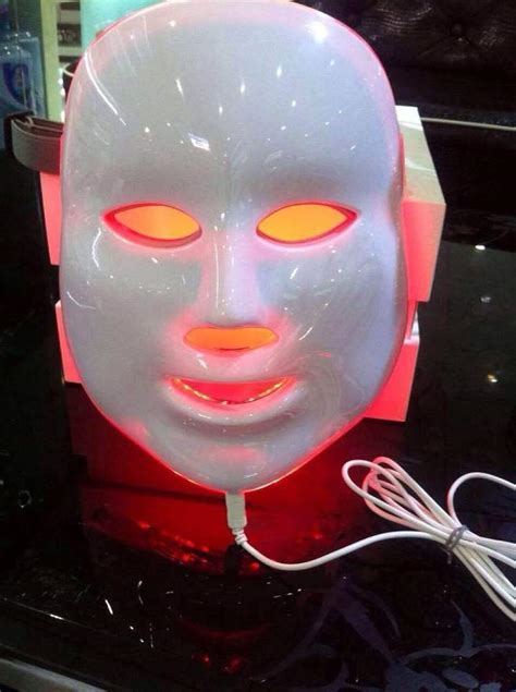 led light therapy mask jmf 7in1 photon mask led light therapy skin