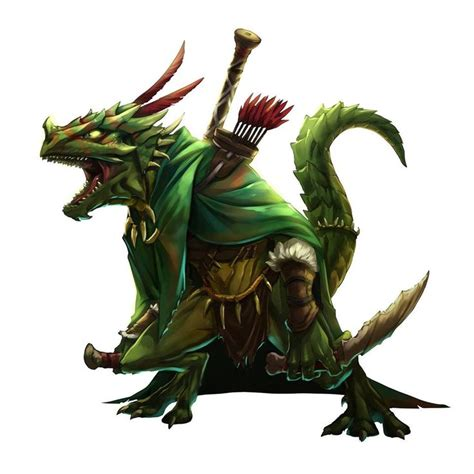 lizardfolk  primitive reptilian humanoids  lurk