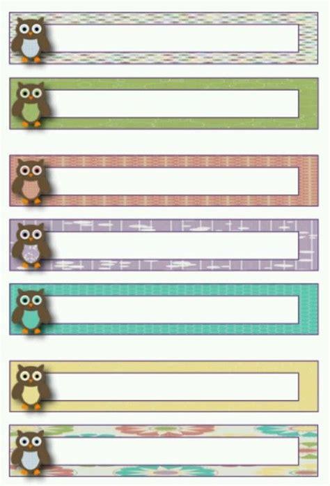 owl file folder labels organized classroom blog file