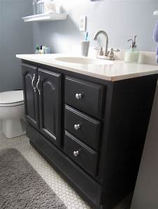 bathroom vanity makeover with chalk paint decor adventures With painted vanities bathrooms