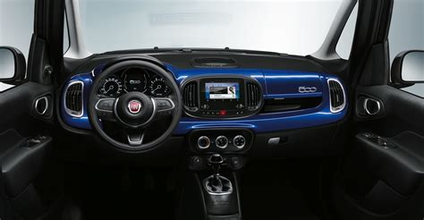 Interni 500l - nuova serie speciale fiat 500 mirror