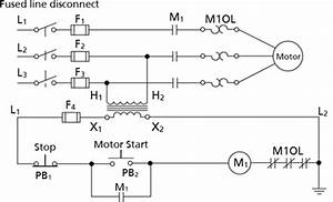 Motor Starter Contorl Circuit Labeled 02