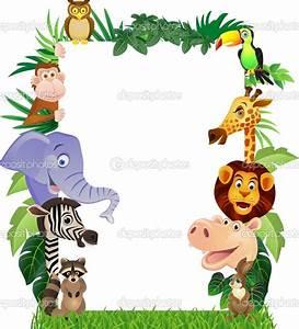 jungle animal border paper Gallery