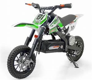 Image De Moto : mini moto cross electrique 500w petite roue vert mod le sans r gulateur ~ Medecine-chirurgie-esthetiques.com Avis de Voitures