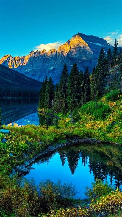 Iphone Wallpapers Mountains Nature Lakes Background Lake