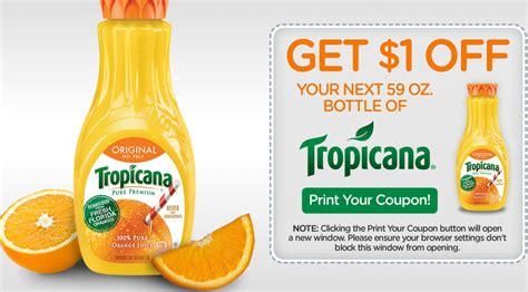 High Value $1/1 Tropicana Orange Juice Coupon – Hip2Save
