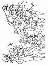 Sailor Moon Coloring Pages Sailormoon Anime Manga Colouring Sheets Series Books Scouts Jupiter Dibujos Kostenlos Force Ausmalbilder Sailors Popular Onlycoloringpages sketch template