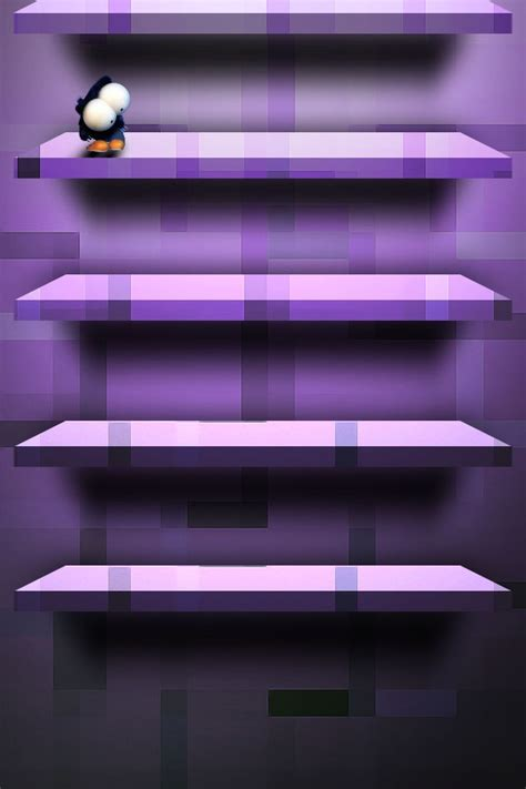 iphone shelf violet shelf iphone wallpaper hd
