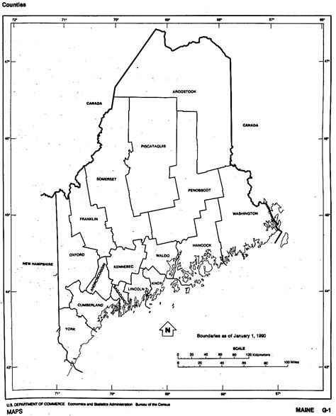 maine outline maps  map links