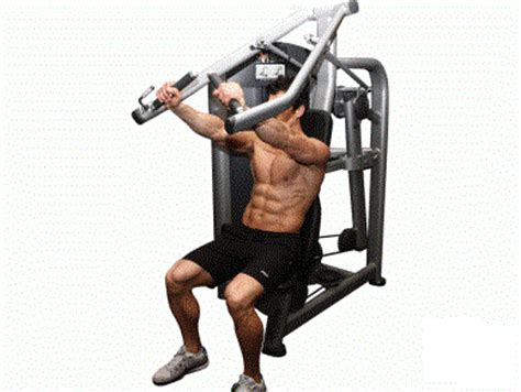 machine bench press machine incline press exercise bodybuilding wizard