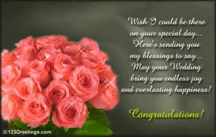 wedding day wishes sending you my blessings free wishes ecards greeting cards 123 greetings
