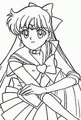 Coloring Sailor Saturn Moon Comments sketch template