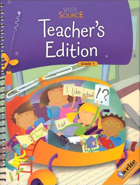 Write Source (2009) Teachers Ed Grade 1 (037729) Details  Rainbow Resource Center, Inc