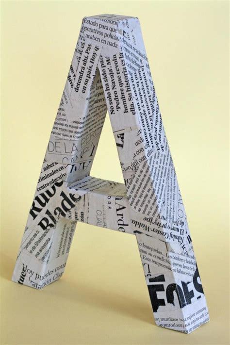 te ensenamos  hacer letras  carton  decorar otros temas de interes letras de carton