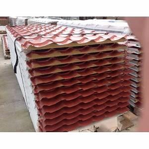 Panneaux Sandwich Pas Cher : trendy panneaux tuile isol mm er choix with tole imitation ~ Melissatoandfro.com Idées de Décoration