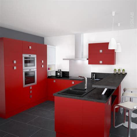 agencement de cuisine ouverte cuisine ouverte contemporaine couleur avec finition