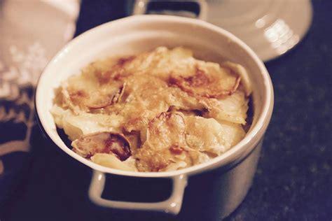 comment cuisiner le marlin gratin de poires de terre et pommes de terre le
