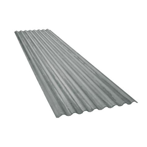chambre à air remorque tôle ondulée 15 ondes galvanisée épaisseur 0 60 6 5 m