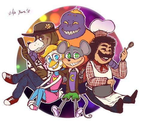 40 years of chuck e cheese by atlas white on deviantart