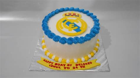 Real Madrid Cake How To Make Easy