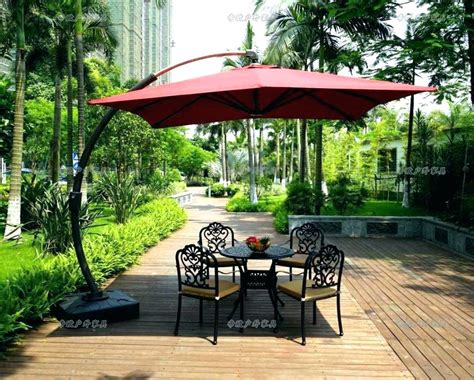 Cheap Patio Sets With Umbrella by Picnic Table Umbrellas Cheap Large Size Modern Outdoor