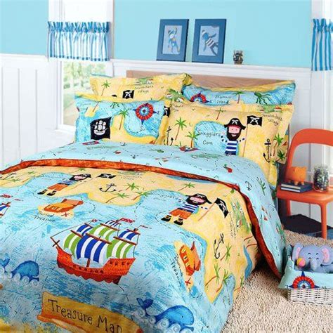 pirates of the caribbean duvet cover set sky blue boys bedding kids bedding twin size colorful