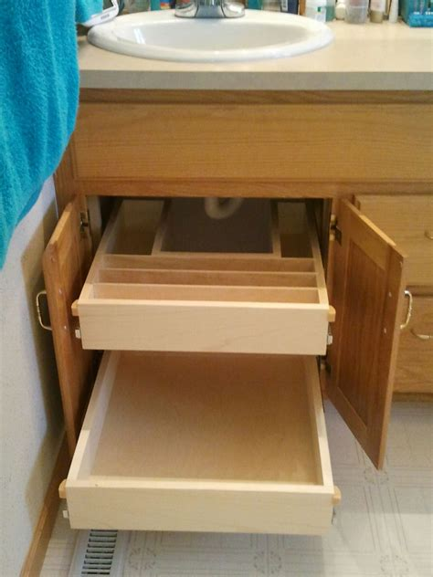 under cabinet pull out shelf bathroom cabinet storage solutions under cabinet roll out