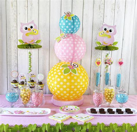 Cute Owl Baby Shower Ideas