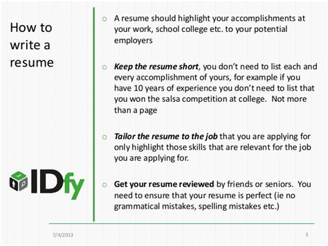 How To Write A Resume Title For Freshers by How To Write A Resume Resume Format 101 For Freshers And