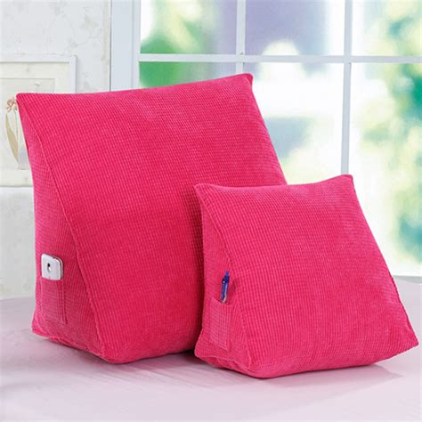 Wedge Cusion by Wedge Cushion Support Pillow Bed Backrest 1006 Tooddly