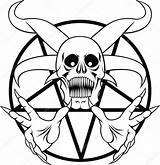 Pentagram Hell Vector Drawing Coloring Clip Illustration Satanic Clipart Drawings Satan Tattoo Royalty Tattoos Death Depositphotos Demon Getdrawings Sketch Symbol sketch template