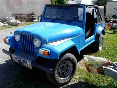 Jeep Kit Cars eagle rv jeep 4x4 blue kit car car for sale