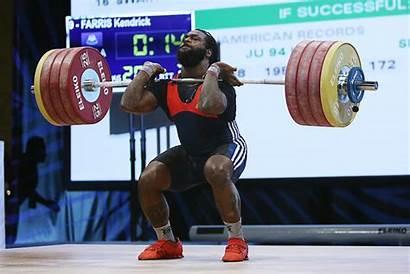 Kendrick Farris Weightlifter Olympic American Weightlifting Vegan