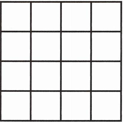 Squares Grid Many Square Paper Inch Piece