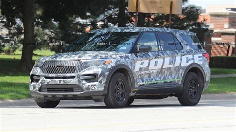 2020 Ford Utility by 2020 Ford Explorer Interceptor Photos Motor1