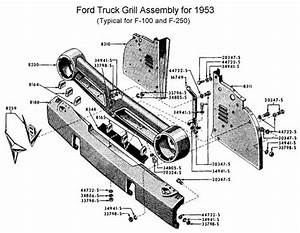 photo z detail information flathead grill 53 f100truck With 1941 ford coe truck