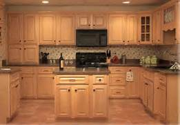 Kitchen Cabinets And Counters These Light Maple Kitchen Cabinets Have Thick Granite Countertops