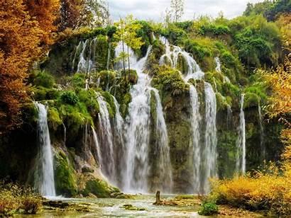Scenery Croatia Park National Autumn Plitvice Wallpapers13