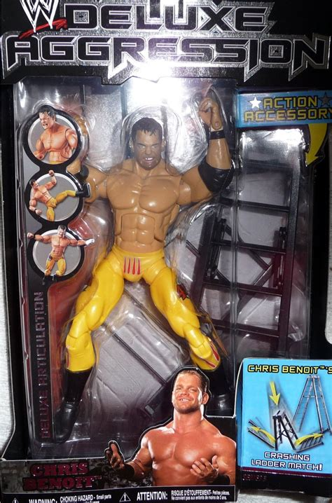 chris benoit wwe deluxe aggression  pro wrestling