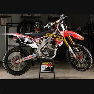 kit deco motocross personnalise kit d 233 co complet honda geico replica officiel 2013 alias mx motorcycles honda