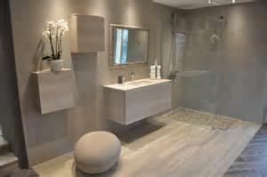 salle de bain avec douche italienne et baignoire dans le