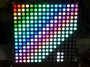 16 x 16 RGB LED Matrix - YouTube