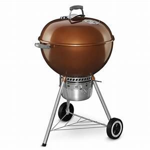 Shop Weber Original Kettle Premium 22-in Copper Porcelain ...