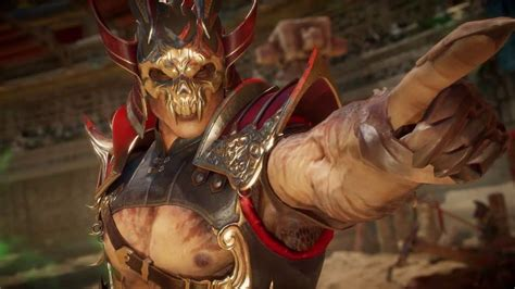 Mortal Kombat 11's Shao Kahn Has A