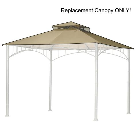 replacement canopy cover 10x10 replacement gazebo canopy for 10 x 10 patio gazebo ebay